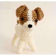 Hand häkeln Hund Hündchen Spielzeug für Baby Geschenk handgemachte Amigurumi