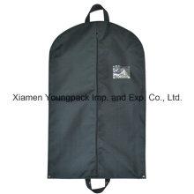 Custom preto não tecido polipropileno viagem Suit Cover