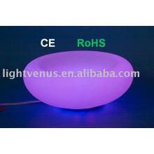 Hight bright PE RGB led fruit Basin