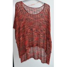 100% Viscose Ladies Round Neck Sweater Moleton