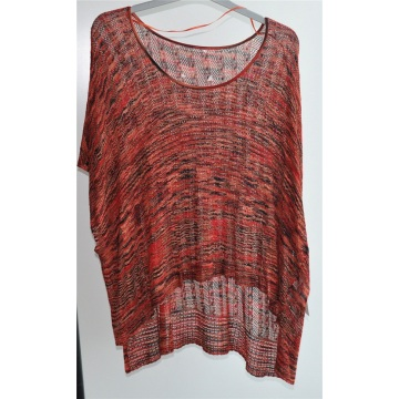 100% Viscose Ladies Round Neck Sweater Moleton