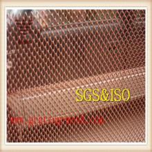 Treillis métallique galvanisé de maillon de chaîne de clôture résidentielle