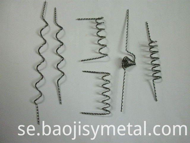 pure Twisted zirconium wire
