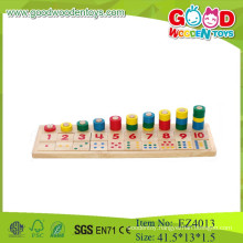 OEM /ODM 2015 educational wooden counting toys for kids,math learning toys for children,wooden counting toys for baby