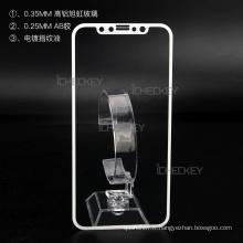 Protecteur d'écran liquide anti-choc de qualité supérieure 3D protecteur d'écran en verre trempé de téléphone portable pour iphone x 8 7 7 plus 6 6s plus