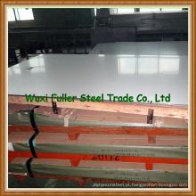 Folha de aço inoxidável lustrada 430 Ss 2mm densamente