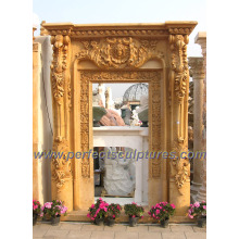 Stone Marble Granite Arch Doorway for Archway Door Surrounding (DR034)
