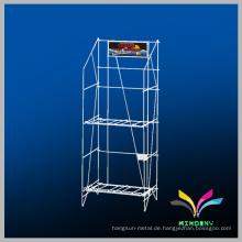 Benutzerdefinierte Design Draht Display Metall Magazin Stand