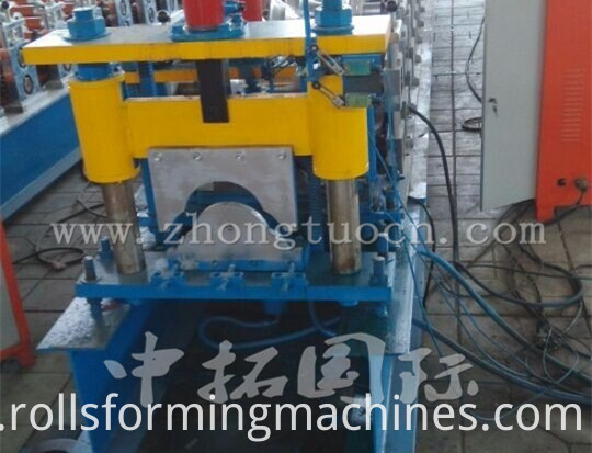 Metal Ridge Cap Tile Making Machine 07
