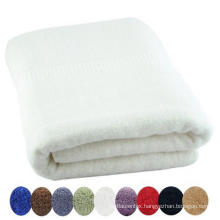 Hot selling high quality 100%cotton white bath towel from china manufacturer