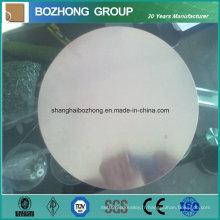 Plaque de cercle en aluminium de vente chaude 7075large diamètre