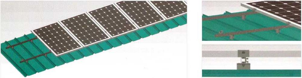 color steel tile roof brackets