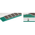 Colored steel tile roof installation system