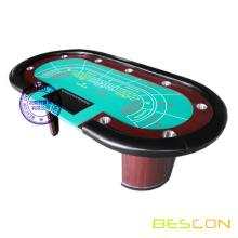 Professional Luxury Baccarat Poker Table with Chip Tray