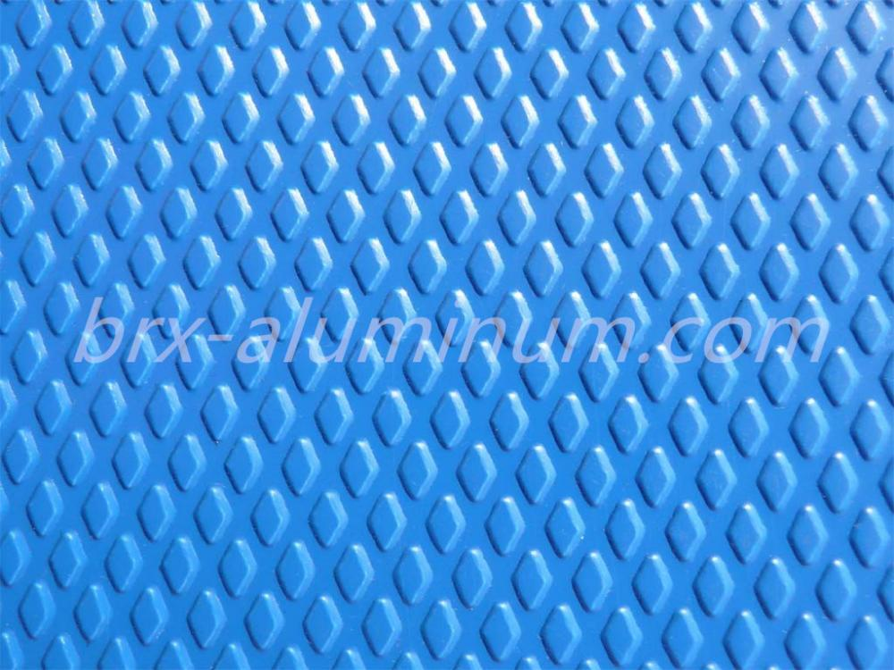 Diamond Pattern Anodized Aluminum Sheet