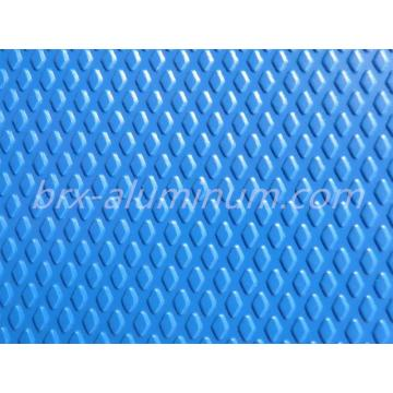 Blue Diamond Pattern Anodized Aluminum Alloy Sheet