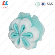 body loofah shower scrubber mesh bath foam loofah sponge