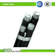 МВ кабель ABC кабель связанный антенной с AAC/проводника acsr/AAAC дирижер