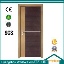 Portes intérieures en bois de noyau solide de mélamine MDF