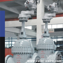 Full Open Bolted Bonnet Cast Steel Expanding Gate Valve