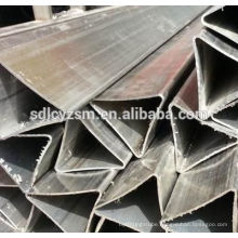 high quality seamless triangle pipe