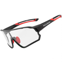 Polarized Color-Changing Windproof Myopia Cycling Glasses Running Driving Bicycle Sports Sunglasses