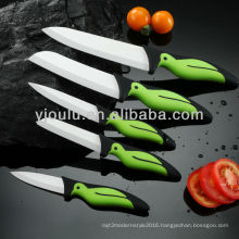 OL002 Ceramic Knife Set With TPE Handle