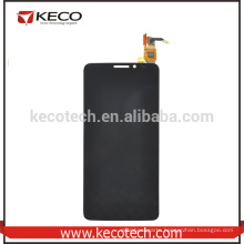 For Alcatel One Touch Idol X OT6040 Phone Inner LCD Display With Outer Touch Digitizer