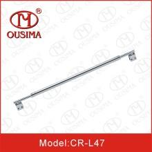 Barre de support de salle de douche à montage en acier inoxydable (CR-L47)