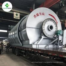 2013 Haute Bénéfice Rabais! Machine de distillation d'usine de raffinage d'huile de pneu de rebut avec le prix concurrentiel