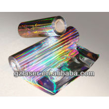 Hologramm Regenbogen Plastikfolie