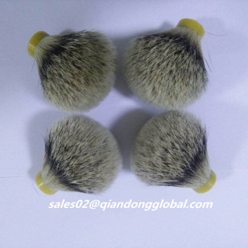 25mm Natural Silvertip Badger Hair Knot