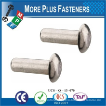 Made in Taiwan High Quality The Rivet Iron Custom Solid Steel Rivets