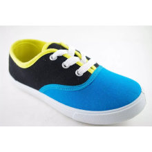 Women Canvas Shoes with Summer Bright Color (NU031)