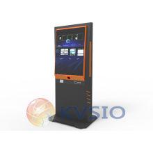 Auto Cutter Multi-media Speakers Dual Sides Interactive Digital Signage Kiosk