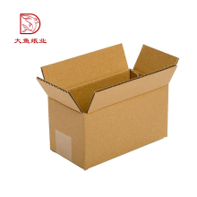 Empaquetado de la caja de cartón corrugado personalizado de calidad superior popular