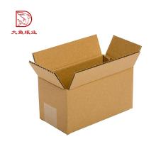 Emballage de boîte de papier ondulé personnalisé populaire de qualité supérieure