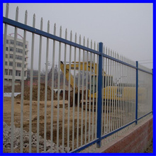 Galvanized welded fence, post fence, models wrought iron fence