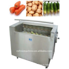 Rhizome vegetable washing machine/vegetable peeling machine