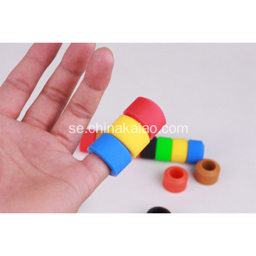 Hot Selling Rainbow Silicone Bike Handle Bar Gripper