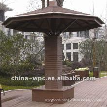 wpc Hexagonal pavilion