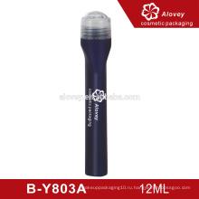 Черная 12 мл пластиковая бутылка для косметической упаковки