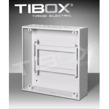 Caja de metal modificada para requisitos particulares del interruptor de MCB