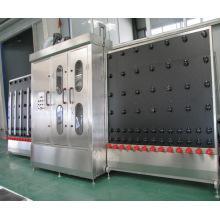 Vertikale Glaswaschmaschine mit einem Paar Luftmesser
