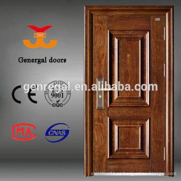 Puertas de entrada de acero modernas y genuinas de Genregal