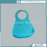 100% Silicone Rubber Child Products Silicone Baby Bib