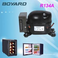 Defrost Type 12v 24v solar refrigerator with portable dc 12v mini car air compressor bd35f