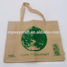 eco-friendly green non woven shopping bag