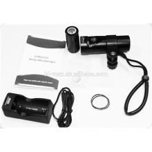 professional diving flashlight underwater video led lights(CE,RoHS,UL-STR)