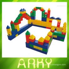 Bloc de construction de jouets en plastique
